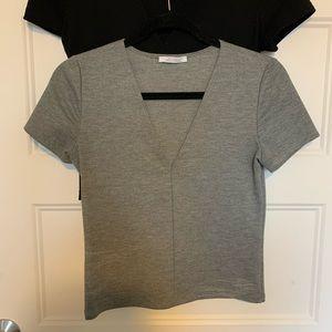 Heather Grey Zara Shirt